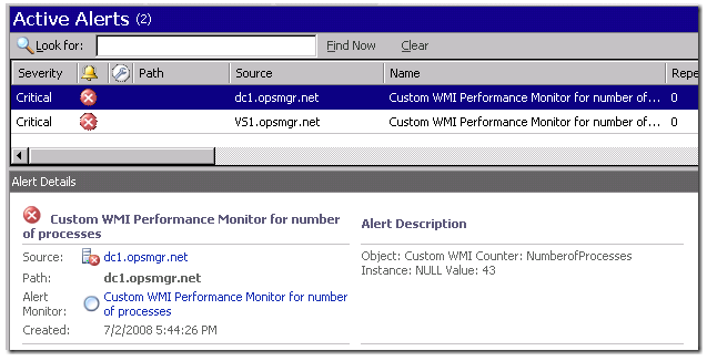 Collecting and Monitoring information from WMI as