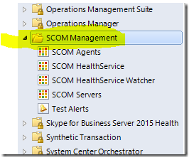 SCOM Management – MP – Making a SCOM Admin's life a little