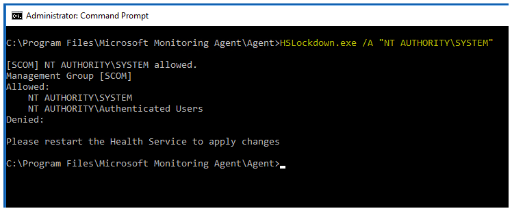 Deploying SCOM 2016 Agents to Domain controllers – some