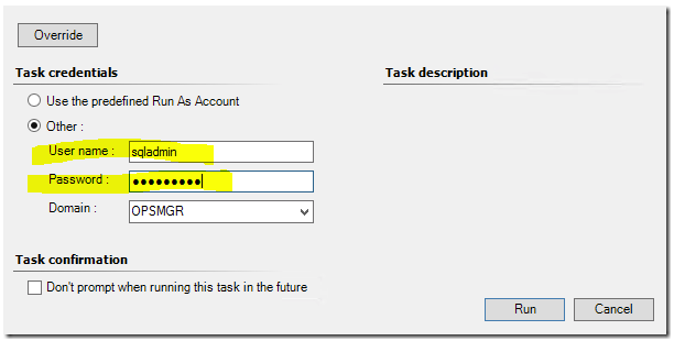 SQL MP Run As Accounts – NO LONGER REQUIRED - Kevin Holman's