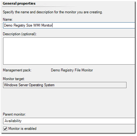 Monitor for file size with SCOM – Using script and WMI examples