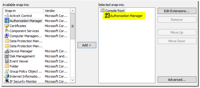 Modifying access in SCOM user roles – without the console - Kevin
