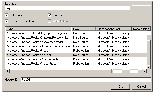 How to create a monitor to inspect the value of a registry
